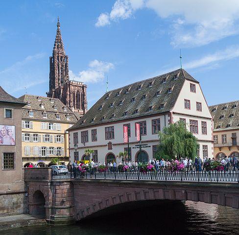 Une vue de Strasbourg ; Crédit : Wikimedia Commons, photo par Sergey Ashmarin